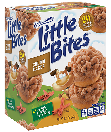 Little Bites® Crumb Cakes 5 count