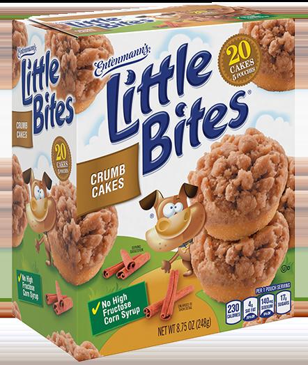 Little Bites® Crumb Cakes