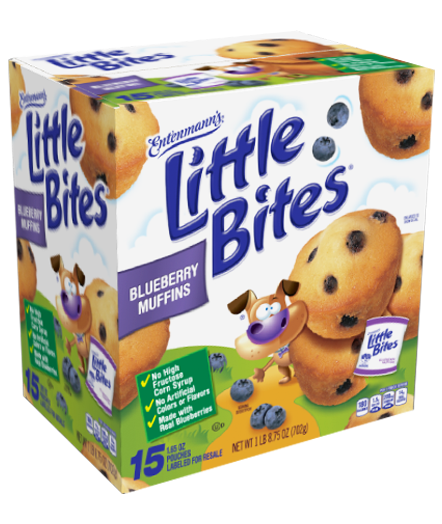 Little Bites Blueberry Muffins 10ct. package