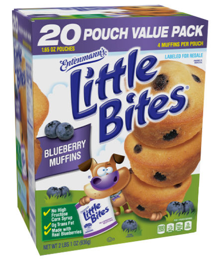 Little Bites® Blueberry Muffin 20 Count