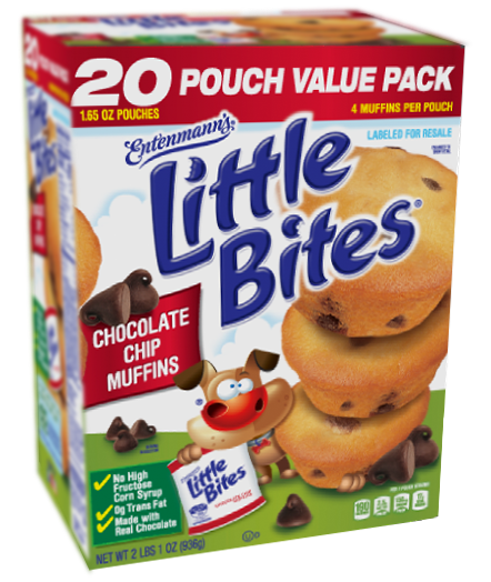 Little Bites® Chocolate Chip Muffins 20 Count