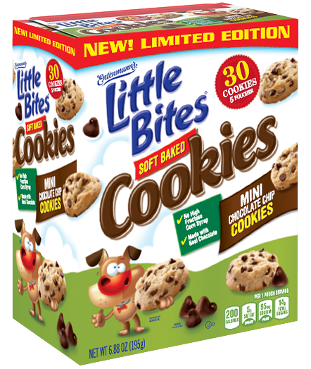 Little Bites® Chocolate Chip Cookies 5 Count