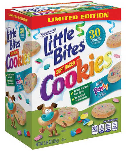Little Bites® Soft Baked Party Cake Cookies