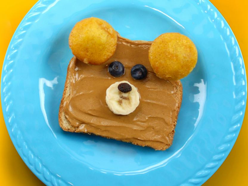 Teddy the Edible Bear sammie