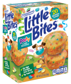 Little Bites® Party Cake Muffins 5 Count