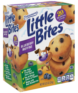 Little Bites® Blueberry Muffins