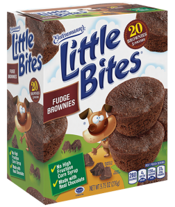 Little Bites® Fudge Brownies