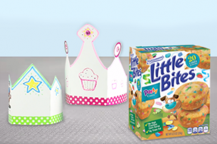 Entenmann's® Little Bites® Muffins DIY Paper Crown
