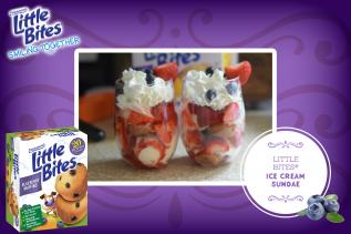 Little Bites® Ice Cream Sundae